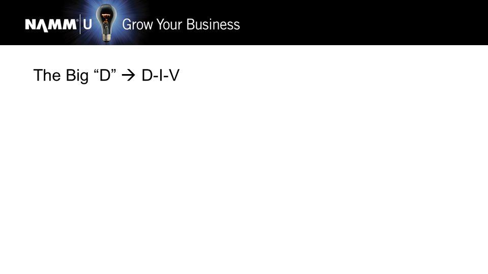 The Big D  D-I-V