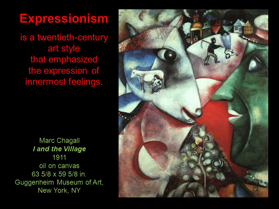 Cubism is a twentieth-century art movement that emphasizes structure and design.
