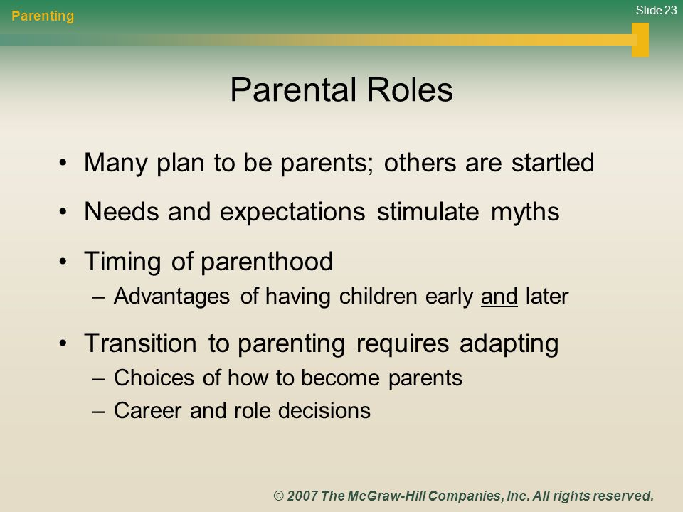 Slide 23 © 2007 The McGraw-Hill Companies, Inc. All rights reserved.