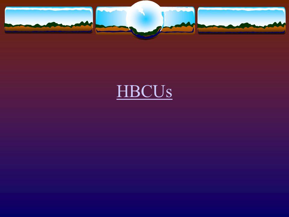 HBCUs