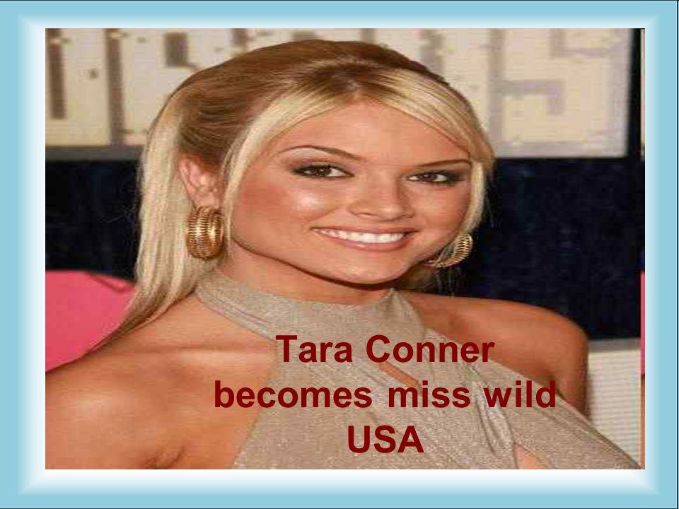Tara Conner becomes miss wild USA