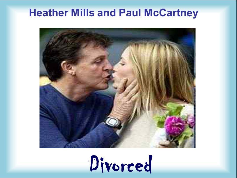 Heather Mills and Paul McCartney Divorced