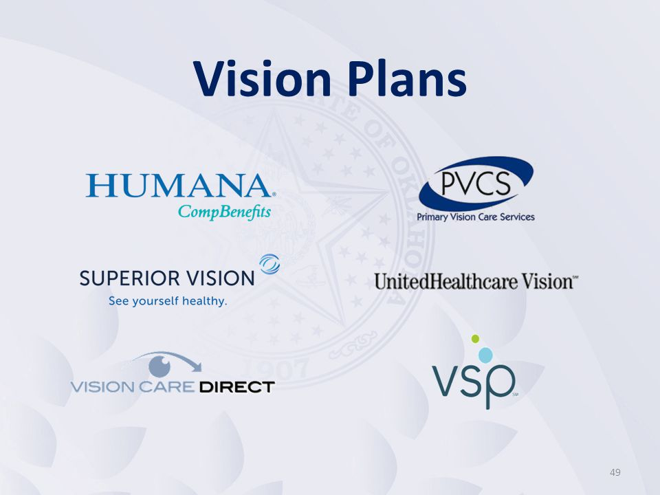 50 Each vision plan has its own provider network All plans cover eyeglasses and/or contact lenses For specific benefit questions, contact the vision plan directly The toll-free numbers and website addresses are listed in the Employee Benefit Options Guide Vision Plans Overview