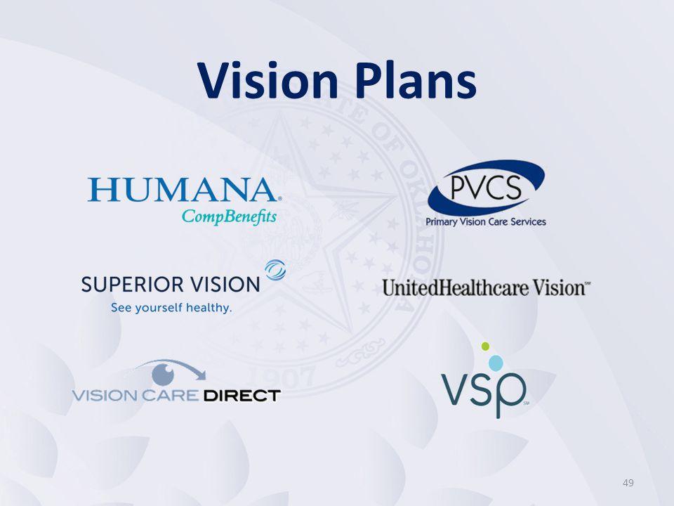 49 Vision Plans