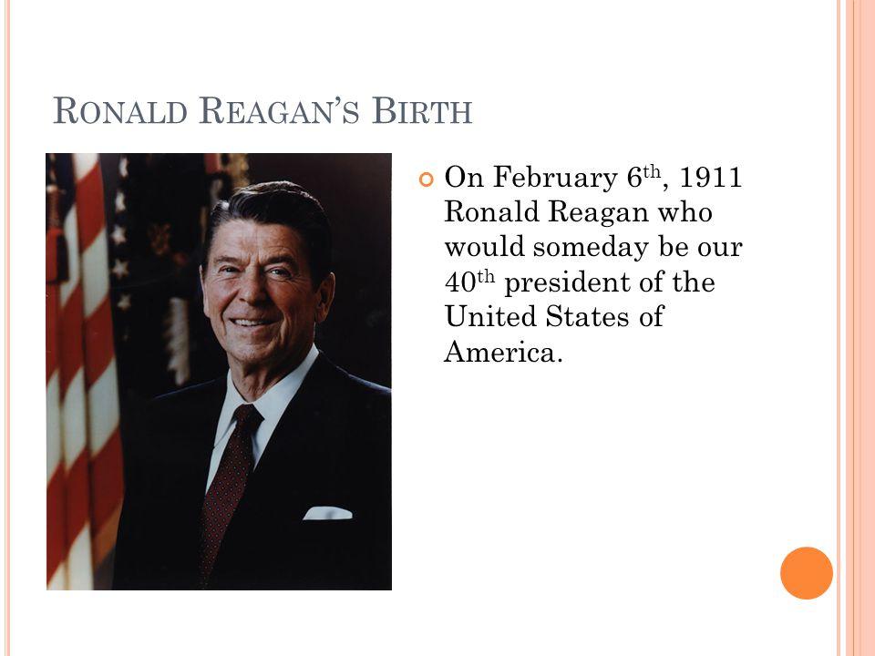 Ronald Reagan graduated from Eureka College in 1932.