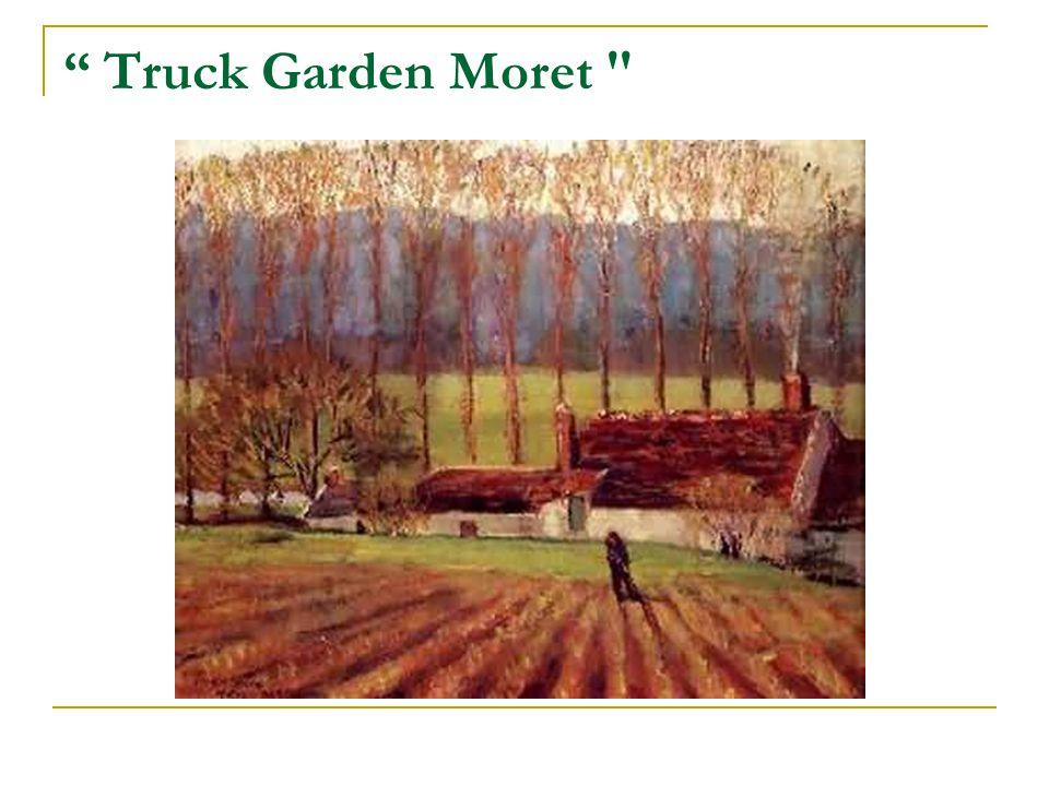 Truck Garden Moret