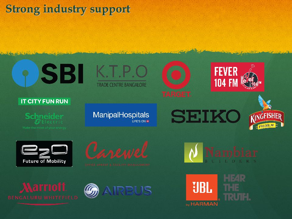 Strong industry support