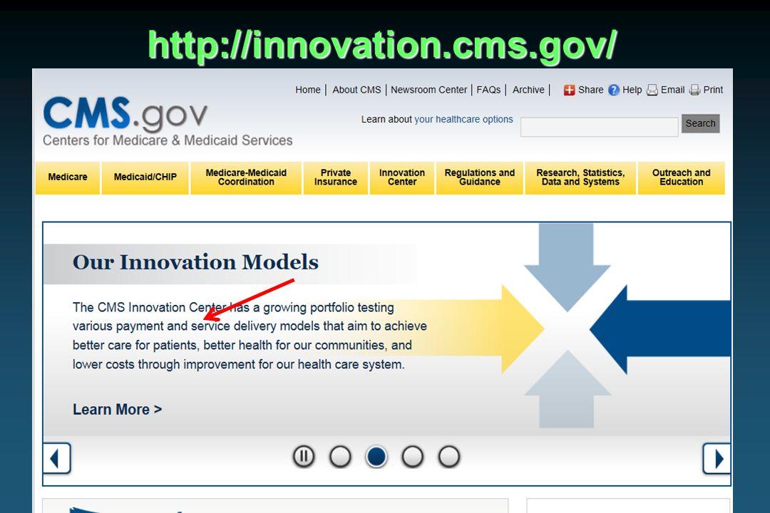 32WSMOS – March 2014http://innovation.cms.gov/