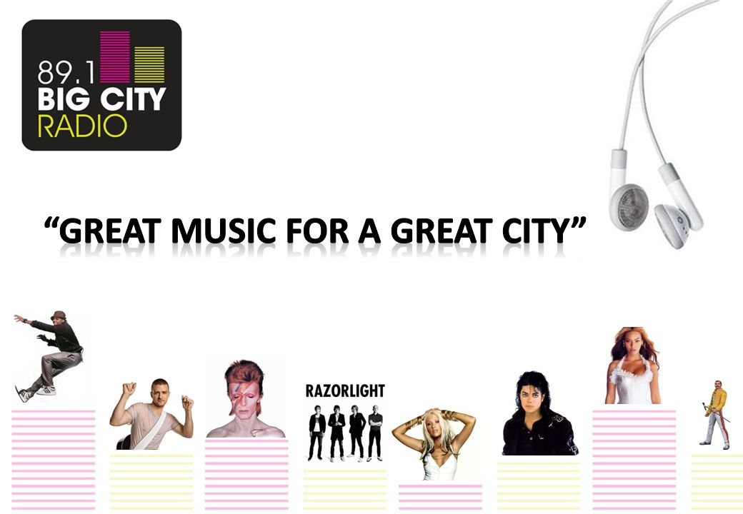 BIG CITY RADIO is Birmingham's own radio station broadcasting on 89.1 FM across the city and on the world wide web.