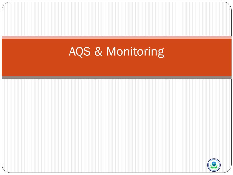 AQS & Monitoring