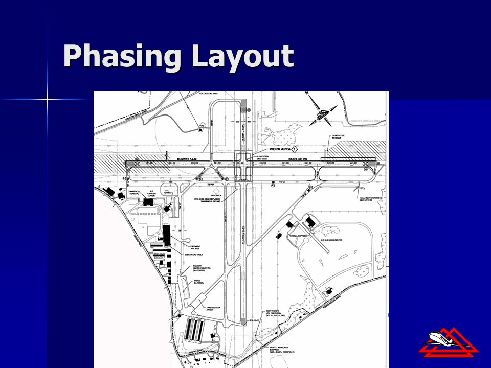 30th Annual Airport Conference FAA Eastern Region Phasing Layout
