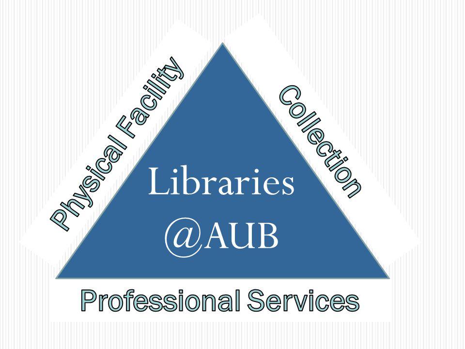 Libraries @ AUB Libraries @AUB