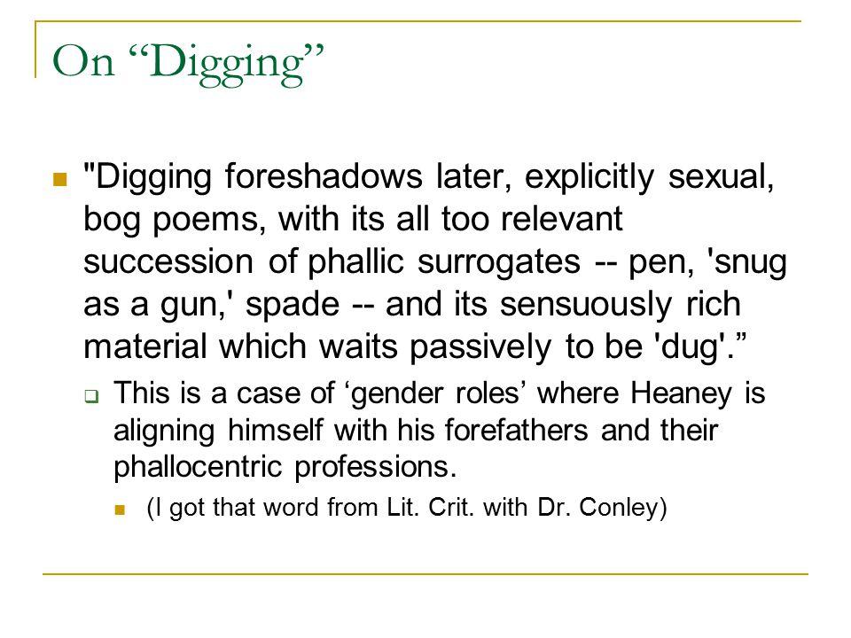 "On ""Digging"""