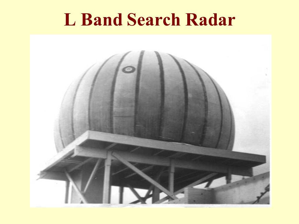 L Band Search Radar