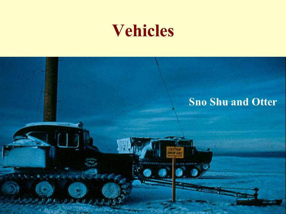 Vehicles SNOW SHU OTTER Sno Shu and Otter