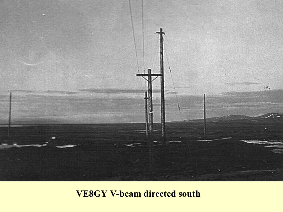 VE8GY V-beam directed south