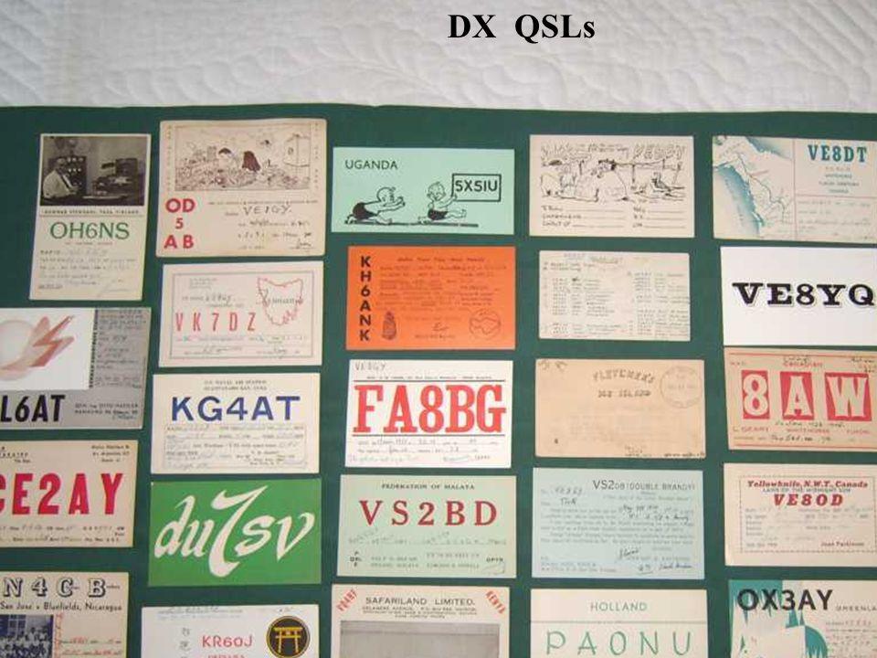 DX QSLs