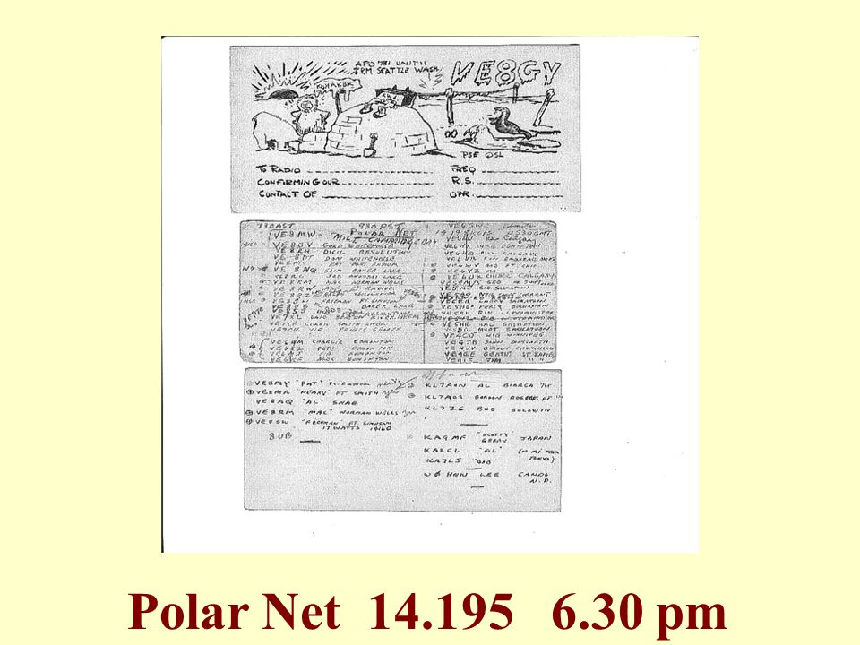 Polar Net 14.195 6.30 pm
