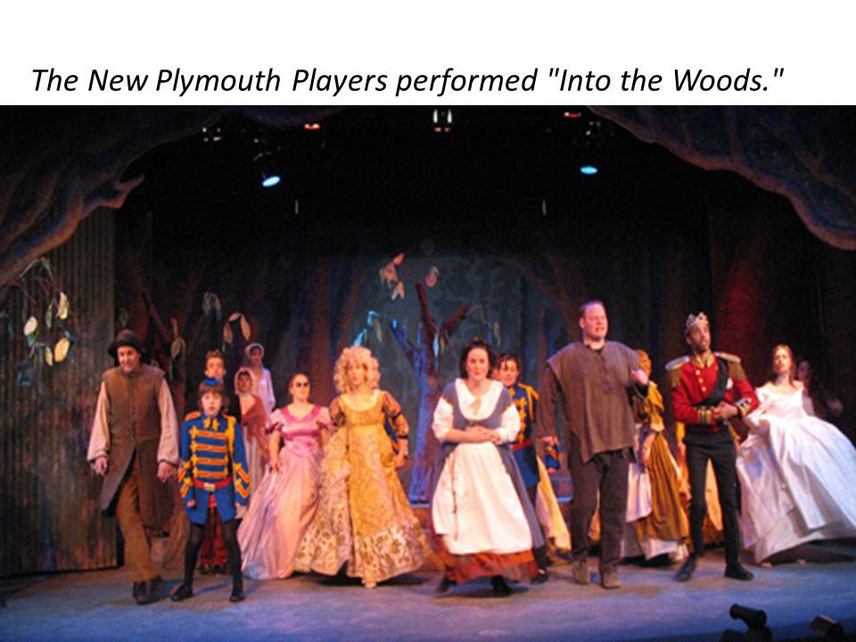 The New Plymouth Players performed Into the Woods.
