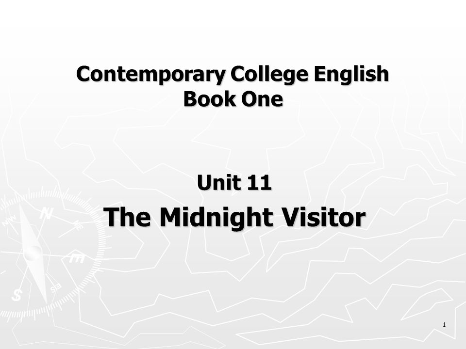 11 In contrast to 007, what is the image of the secret agent called Ausable in the Midnight Visitor .