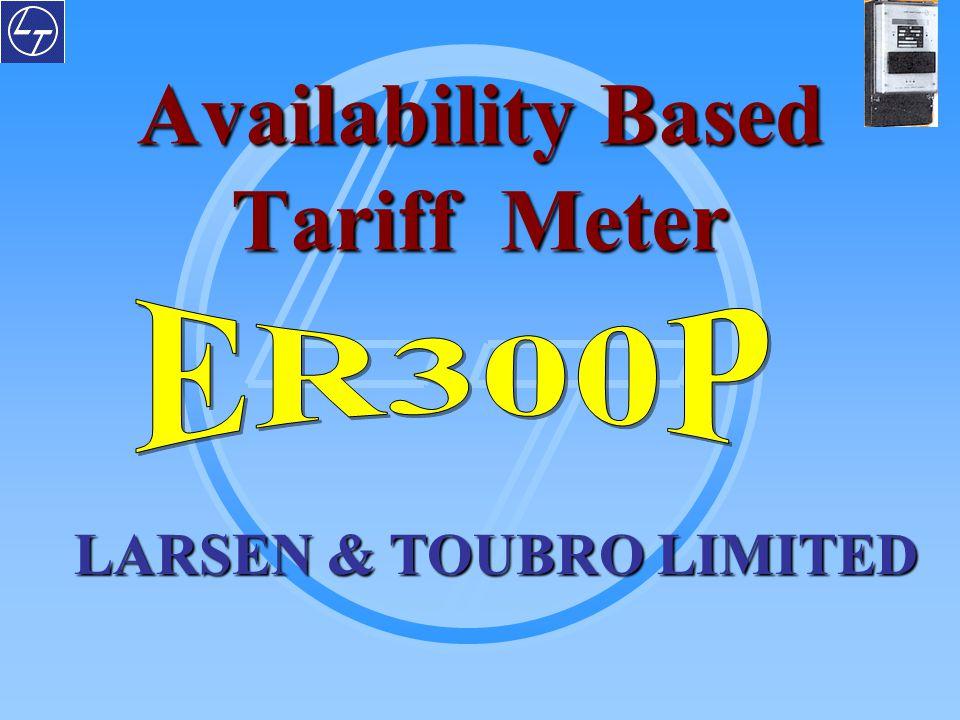 LARSEN & TOUBRO LIMITED Availability Based Tariff Meter