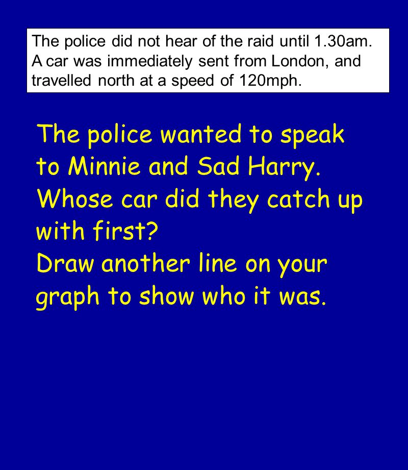 The police did not hear of the raid until 1.30am.