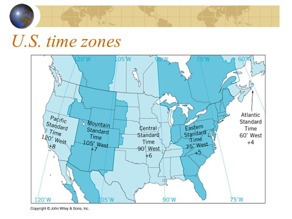 U.S. time zones