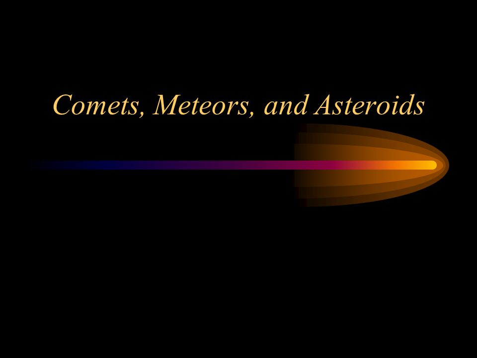 Structure of a Comet To Sun Ion Tail Dust Tail Coma