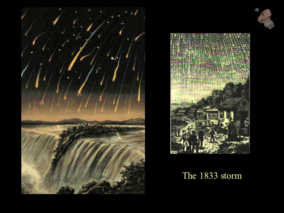 The 1833 storm