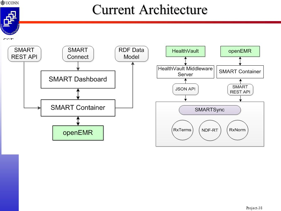 Project-38 CSE 2102 Current Architecture