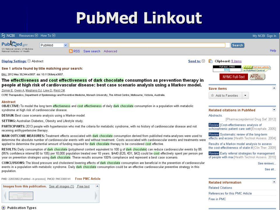 PubMed Linkout