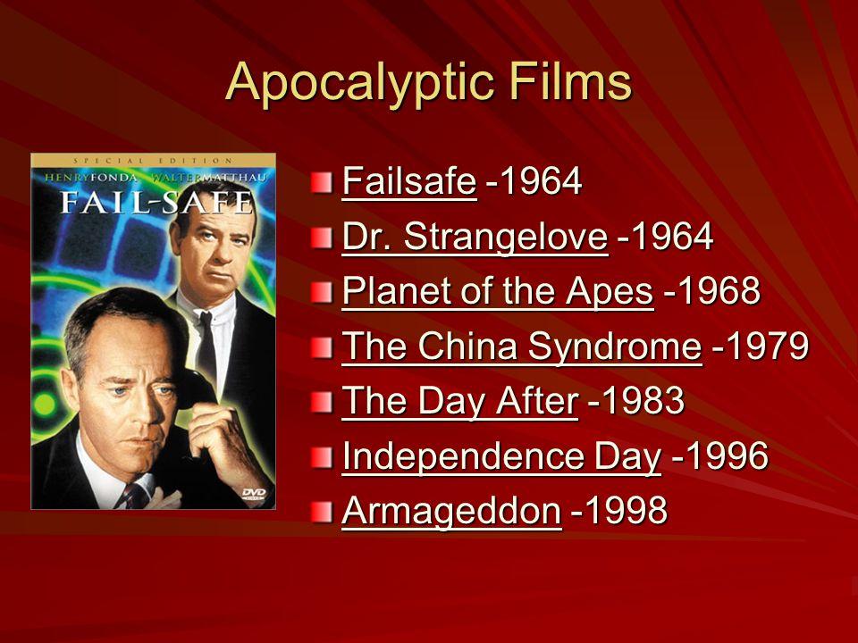 Apocalyptic Films Failsafe -1964 Dr.