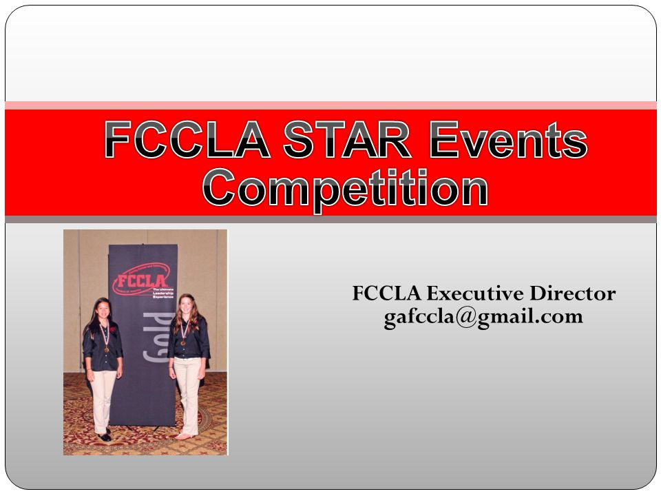 Events that will advance directly to State Competition this year.
