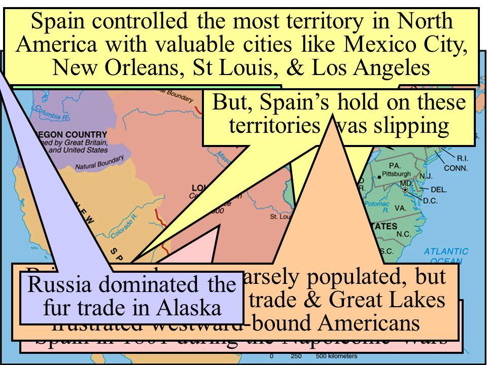 Renewed Conflict Overseas In 1803, England & France resumed their war & violated U.S.