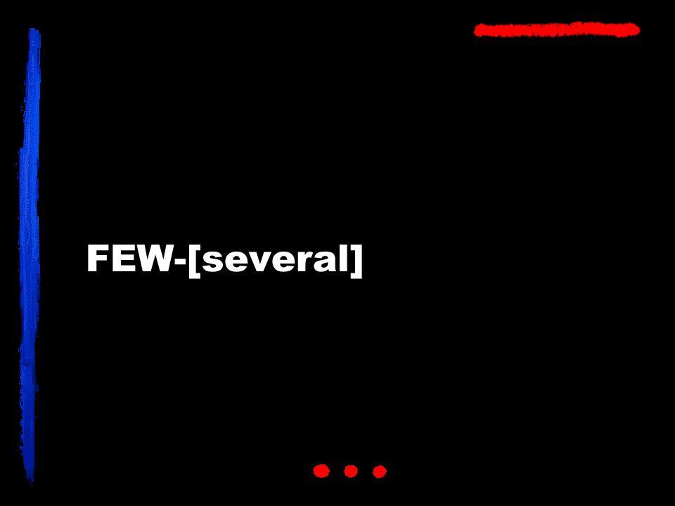 FEW-[several]