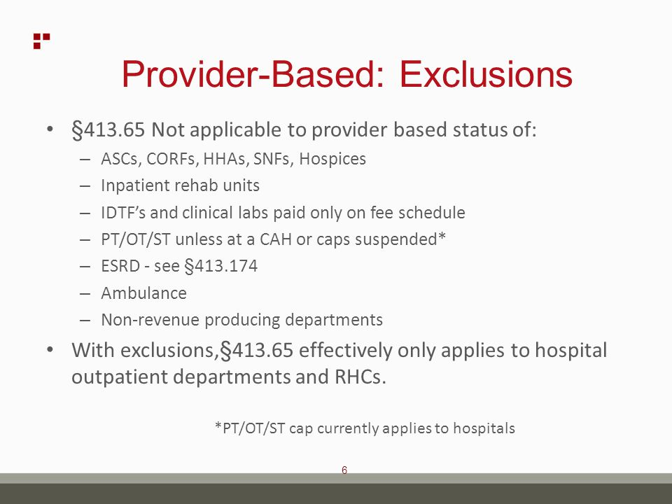 37 Enforcement Delay in 2-Midnight Rule CMS delayed enforcement of the 2-midnight rule – Hospitals and practitioners are required to follow the 2- midnight rule for inpatient admissions beginning on October 1, 2013.