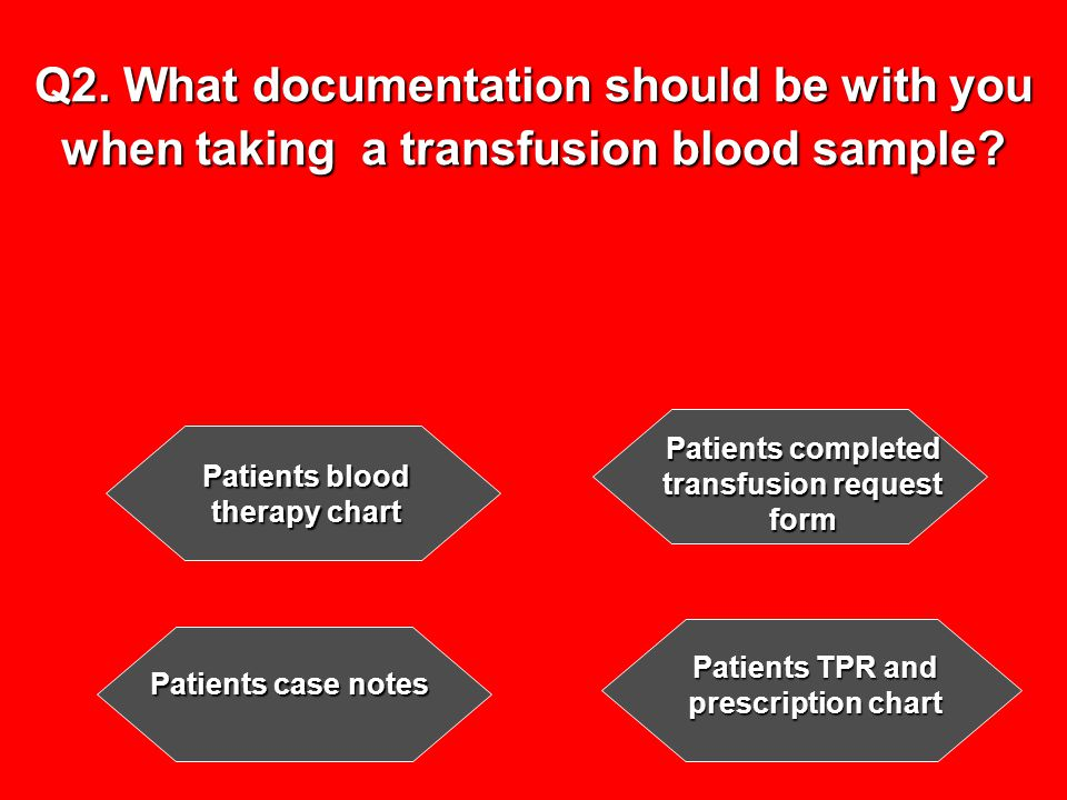 Q23.For routine transfusions, how many units should be collected from the blood bank fridge at one time.