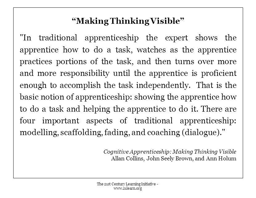 """""""Making Thinking Visible"""""""