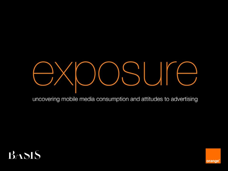 Orange Unrestricted amount of time spent on mobile media 3.5 hours