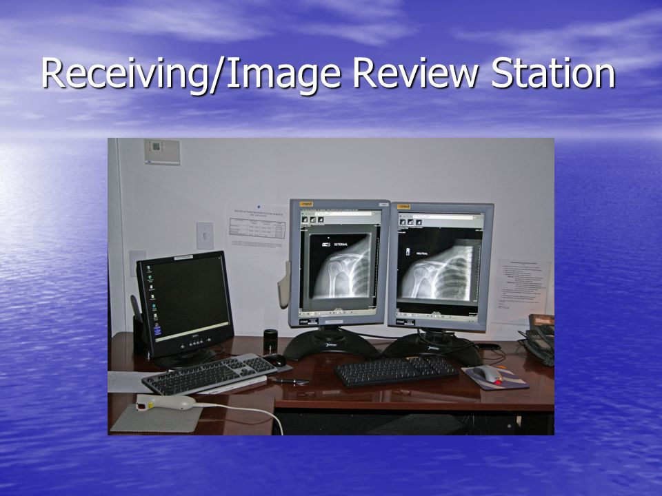 Receiving/Image Review Station