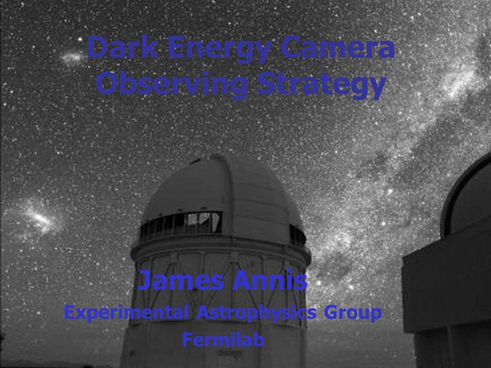 Dec 5+6 2003 FermilabDark Energy Camera Workshop Jim Annis