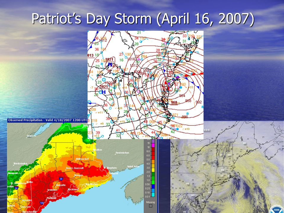 Patriot's Day Storm (April 16, 2007)
