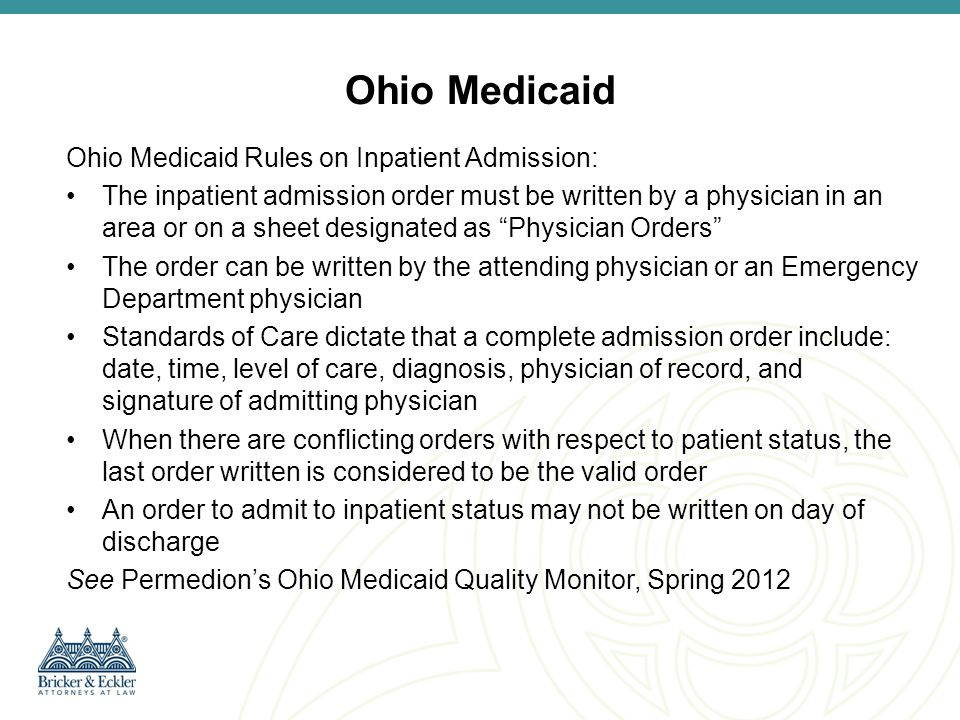 Two Midnight Rule Implementation – Probe and Educate On November 4, 2013, CMS directed contractors to begin a probe & educate prepayment review of a small number of inpatient claims for inpatient admissions of less than two midnights beginning with admissions on October 1, 2013.