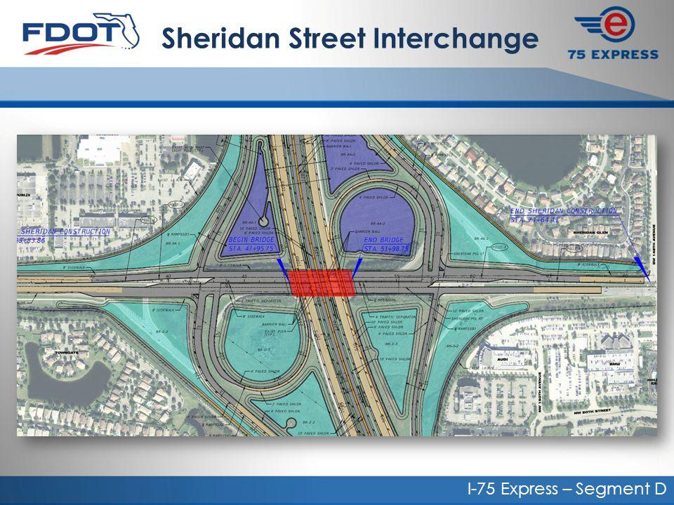 I-75 Express – Segment D Sheridan Street Interchange