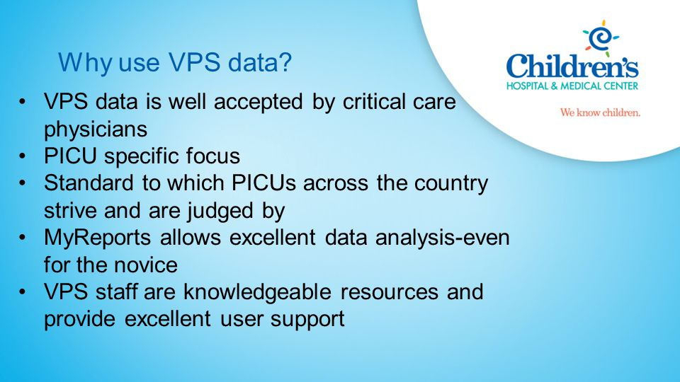 Why use VPS data.