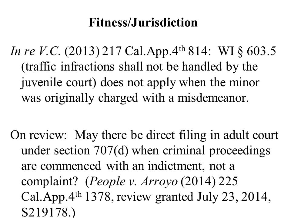 Fitness/Jurisdiction In re V.C.
