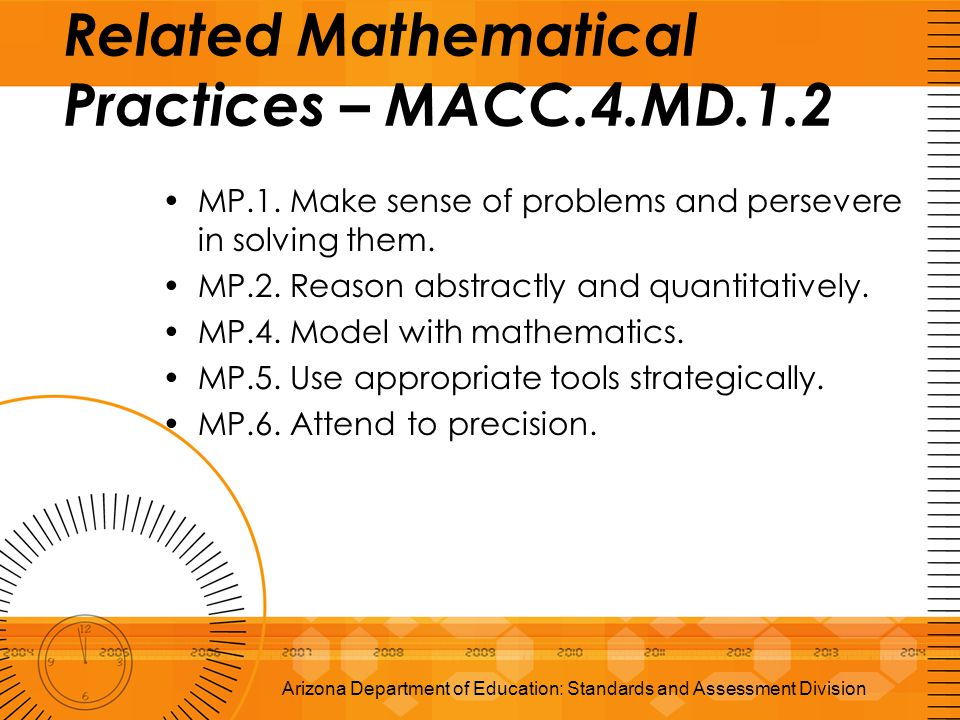 MP.1. Make sense of problems and persevere in solving them. MP.2. Reason abstractly and quantitatively. MP.4. Model with mathematics. MP.5. Use approp