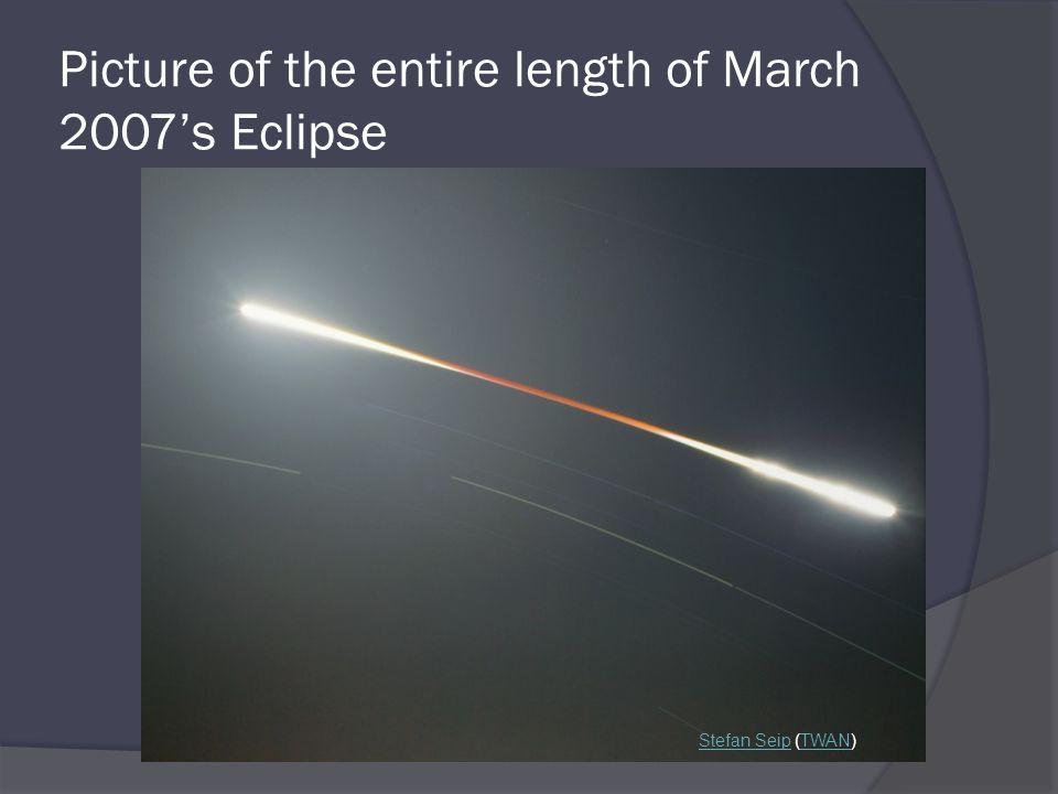 Picture of the entire length of March 2007's Eclipse Stefan SeipStefan Seip (TWAN)TWAN
