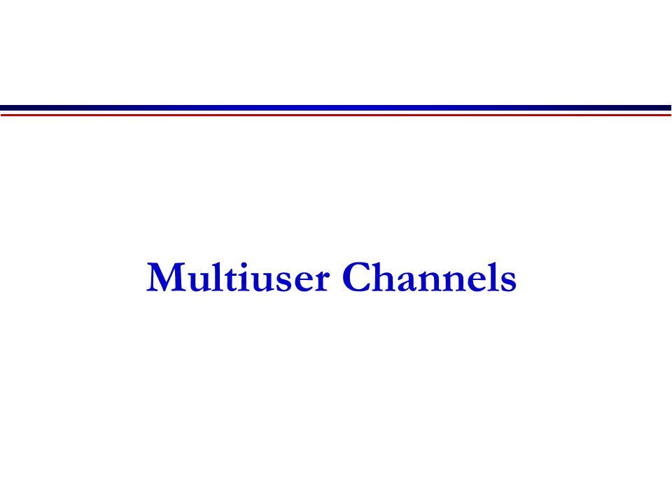 Multiuser Channels