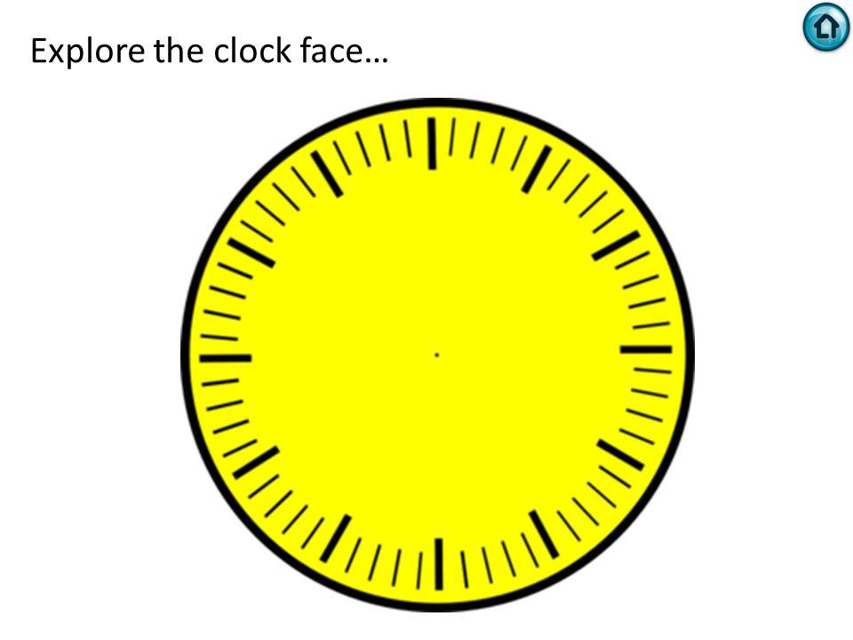Explore the clock face…